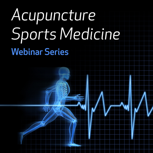Acupuncture Sports Medicine Webinar Series