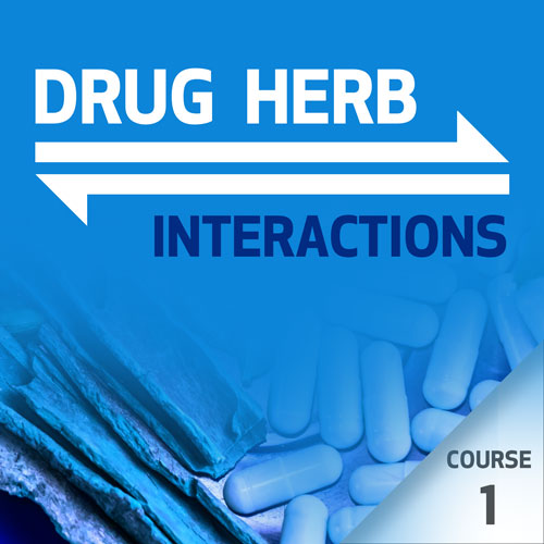 Drug-Herb Interactions - Course 1