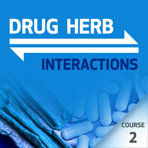 Drug-Herb Interactions - Course 2