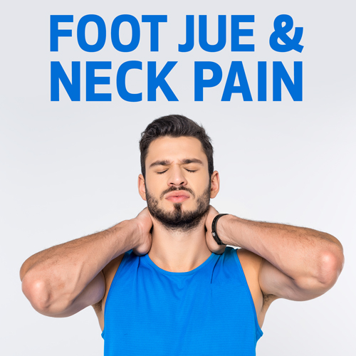 Foot Jue and Neck Pain