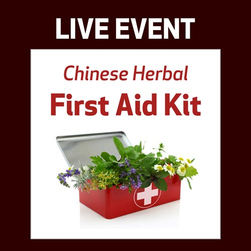 LIVE EVENT - Chinese Herbal First Aid Kit