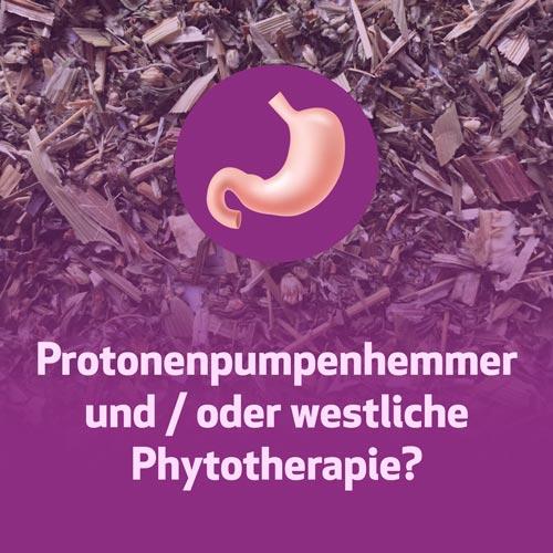 Protonenpumpenhemmer und / oder westliche Phytotherapie?