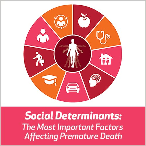 Social Determinants: The Most Important Factors Affecting Premature Death