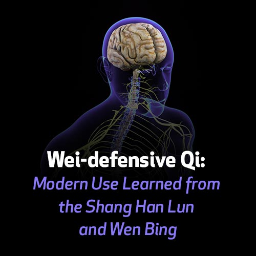 Wei-defensive Qi: Modern Use Learned from the Shang Han Lun and Wen Bing